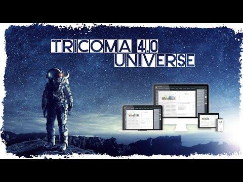 tricoma 4.0 universe - Relaunch und Vorstellung des neuen Desktops