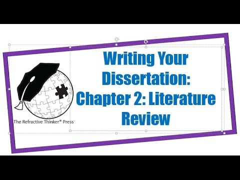 Dr. Cheryl Lentz: Chapter 2: Literature Review Writing Tips