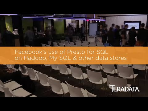 Facebook's use of Presto for SQL on Hadoop, My SQL & other data stores