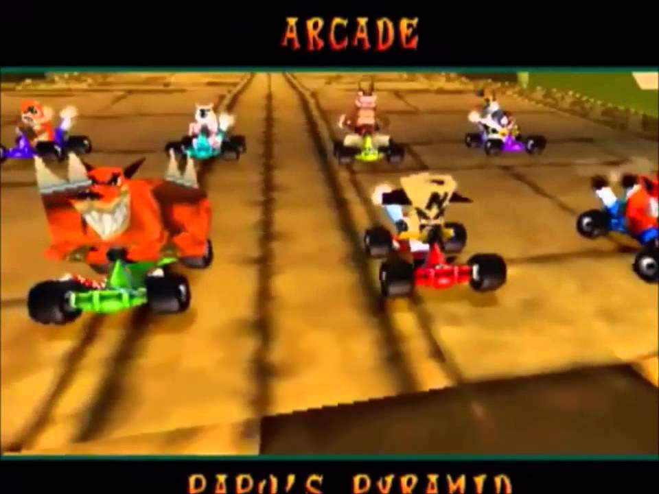 Crash Team Racing eboot Psp CTR Crash Team Racing Sony PlayStation