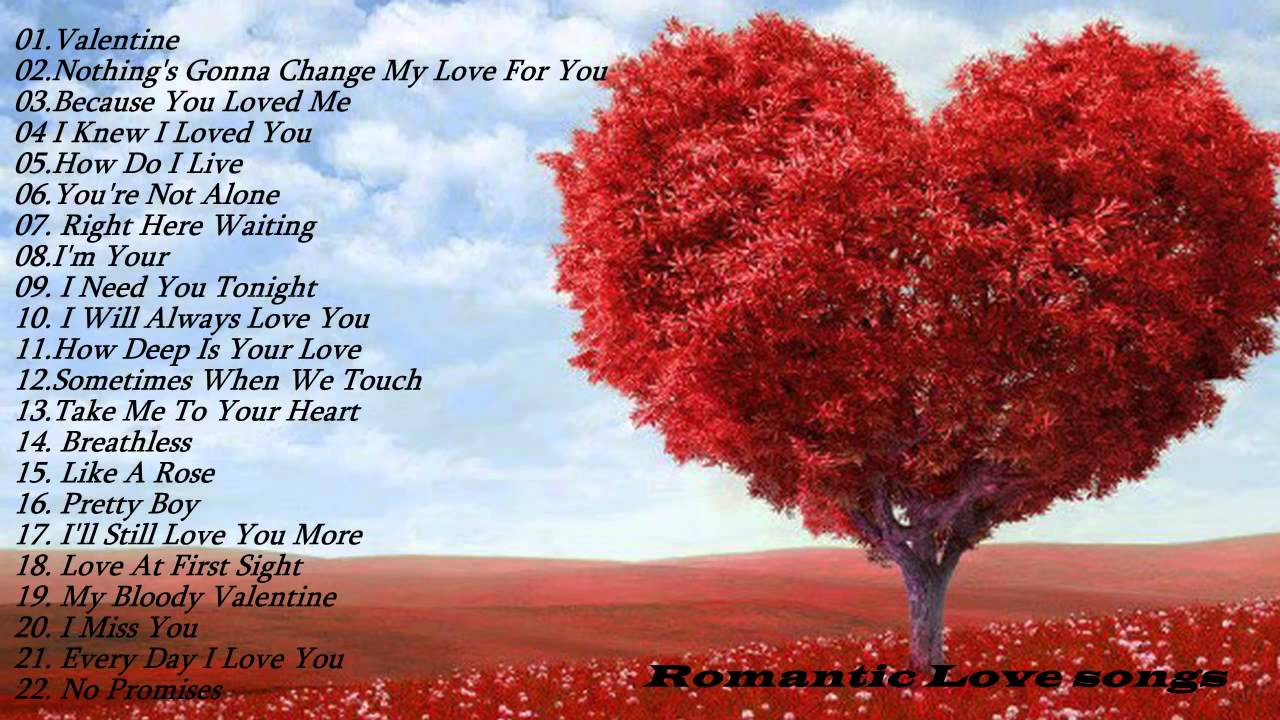 Top 20 R Wallpaper Love: Romantic Love Songs Top 50Romantic Love Songs Playlist
