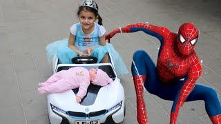 سوار والعصاي السحري🧚 | are you sleeping brother john nursery Rhyme | frozen Elsa & spiderman