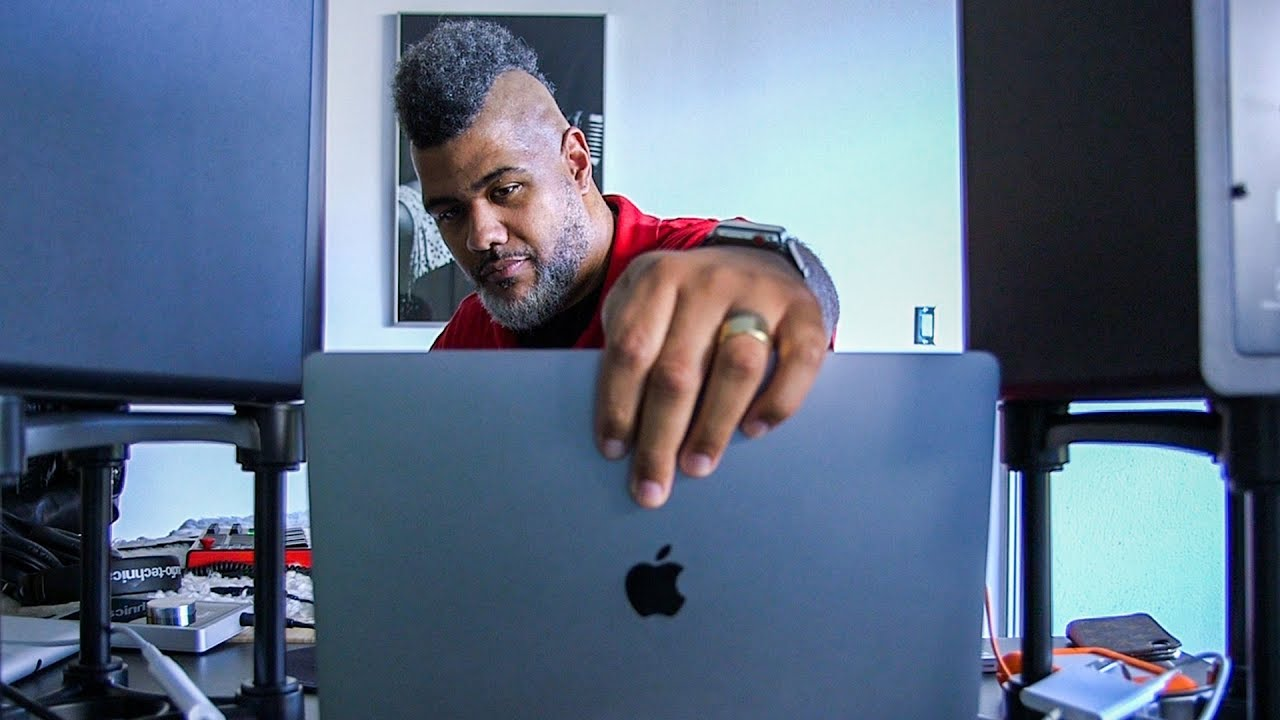 How this top producer turns his laptop into a studio
