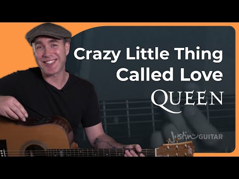 Crazy Little Thing Called Love - Queen - Guitar Lesson Tutorial (BS-720)