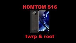 видео Как получить root права Homtom HT6