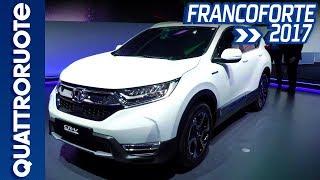 Nuova Honda CR-V Hybrid: svelato il prototipo al Salone di Francoforte 2017 | Quattroruote