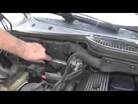 BMW 3 Series E36 Engine Computer Location - YouTube