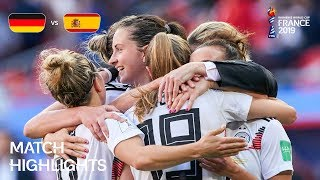 Germany v Spain FIFA Women's World Cup France 2019™