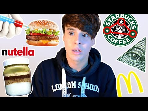 scary FOOD CONSPIRACY THEORIES exposed