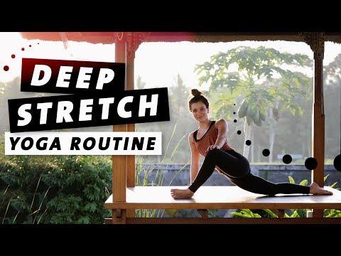 Yoga Deep Stretch Routine | Den ganzen Körper dehnen | Entspannung & Beweglichkeit