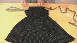 Как научиться Шить. Как сшить платье без выкройки(Как научиться шить с нуля. Как сшить платье без выкройки совсем не сложно. Очень простой способ шитья краси..., 2015-07-26T14:00:14.000Z)