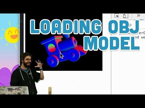 18.7: Loading OBJ Model - WebGL and p5.js Tutorial