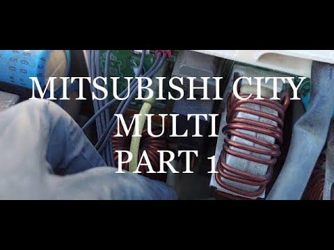 6 FLASHES! DIAGNOSTICS NOISE FILTER BOARD, HOW TO TROUBLESHOOT MITSUBISHI MINI SPLITS PART 1