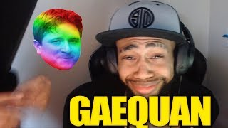 GAEQUAN GETS RAIDED BY MYTH - MYTH DOESNT NEED HANDS POGGERS | Fortnite Stream Clips