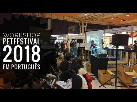 .:PT:. Workshop sobre Aquascaping na PET Festival - FIL 2018