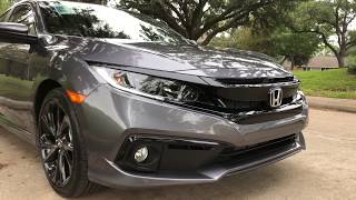 2019 Honda Civic Sport Sedan 6M