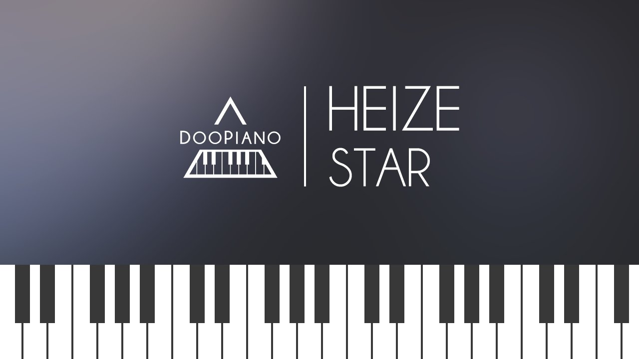 heize-star-piano-cover-doopiano