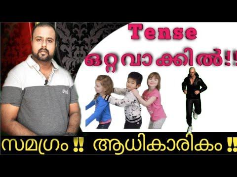 Kerala psc English TENSE Ldc 2020 Tense Tense in malayalam P