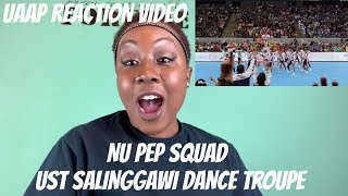 UAAP CDC 2018 REACTION VIDEO | NU PEP SQUAD & UST SALINGGAWI DANCE TROUPE