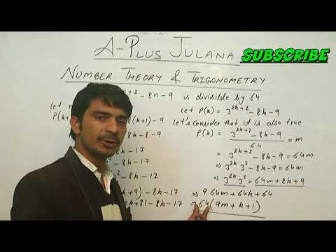 B.sc complete chapter Number Theory Trigonometry 1 DIVISIBILITY Principle mathematical induction
