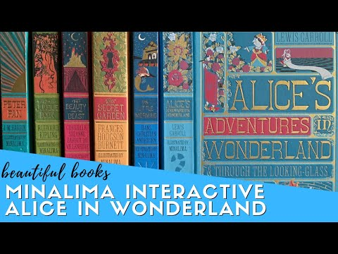 MinaLima's Delightful Interactive Alice In Wonderland | Beautiful Books