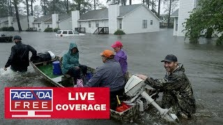 Tropical Storm Florence LIVE COVERAGE - New Evacuations & Flooding