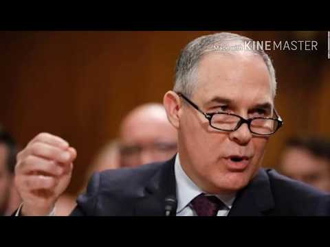GAO says EPA violated spending law on Scott Pruitt's privacy booth