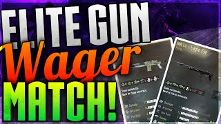 Advanced Warfare -  INTENSE ELITE MK14 WAGER! vs iTankid (COD AW Elite Weapons Wager Match)