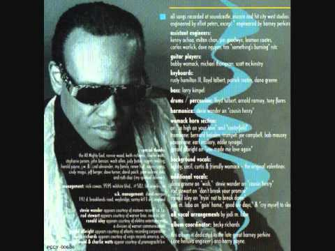 Trying Not To Break Down  -   Bobby Womack