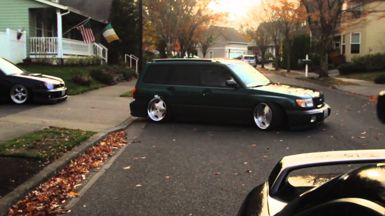 Robbie Ericksons Stanced Forester