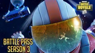 Fortnite Battle Royale - Season 3 Battle Pass Details