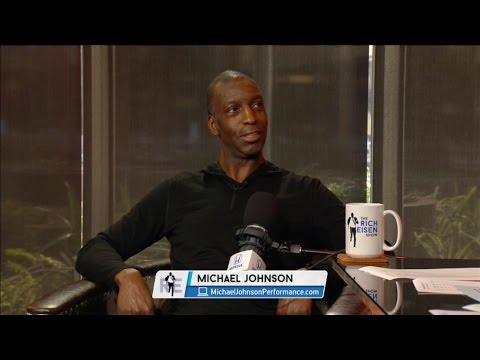 4-time Olympic Gold Medalist Michael Johnson Joins The RE Show in Studio - 2/24/17