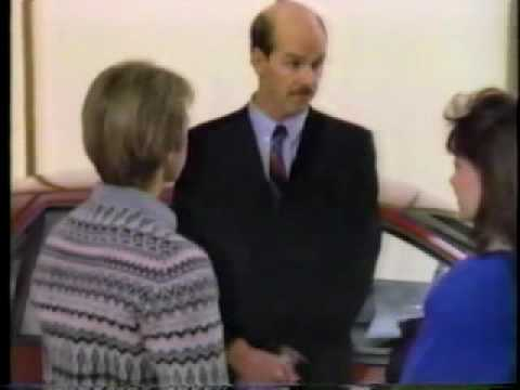 Manitoba GM Dealers commercial with Don Adams (1989)