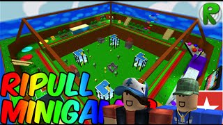 Roblox Gameplay - Ripull Minigames with CollinsTheGamer