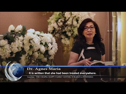 """Video Lensa Firman Episode: """"The Blessing Faith"""" by Dr. Agnes Maria."""
