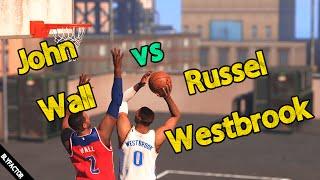 Russel Westbrook vs John Wall | NBA 2K15 PC Blacktop Mode 60FPS