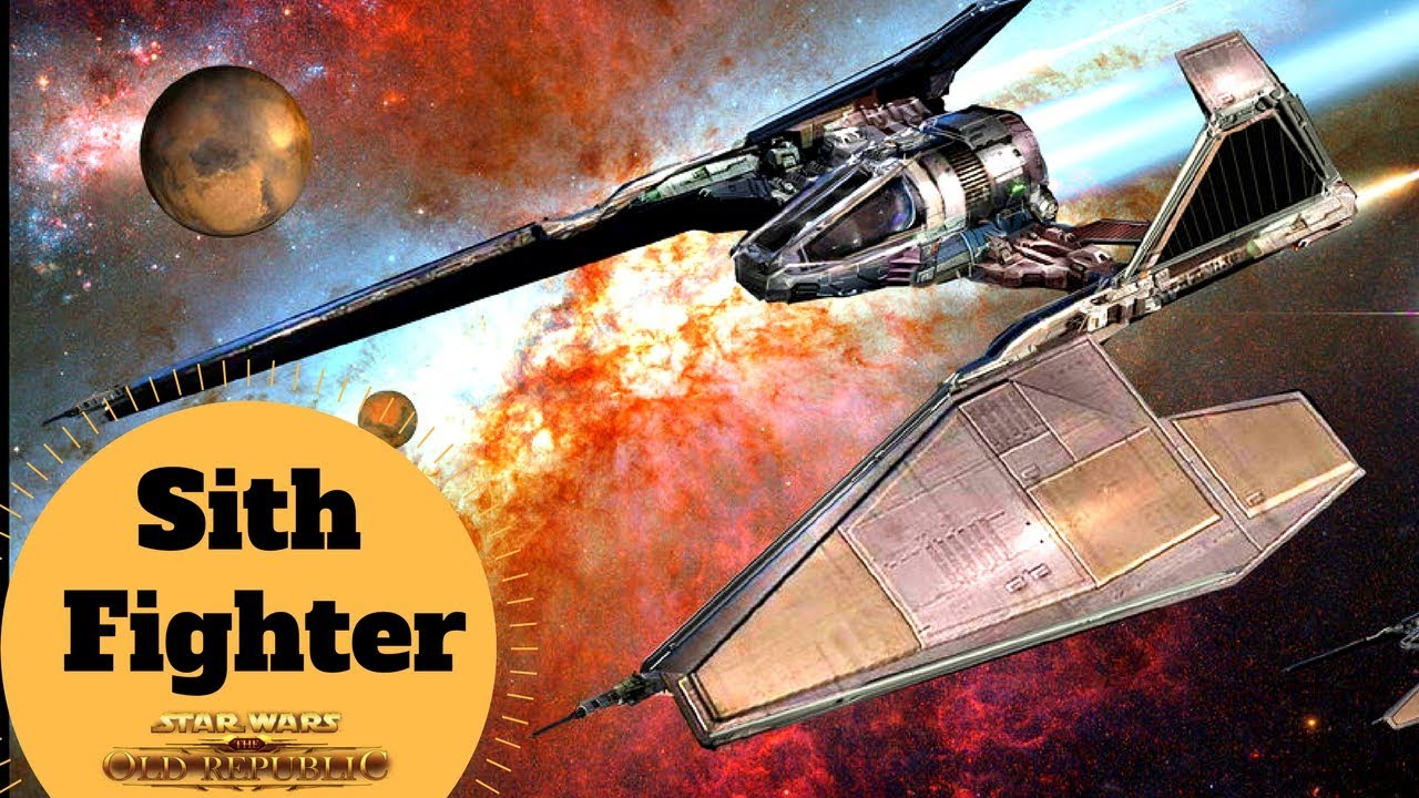 Old Republic Sith Empire Starfighter - SITH FIGHTER - Star Wars Old  Republic Ships Explained