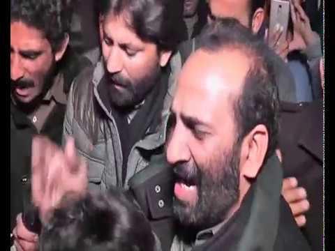 Zakir Zuriyat Imran Noha Bazar e Sham Matamdar Najaf   Way to Karbala 2017 Karwan Zakir Zuriyat Imra
