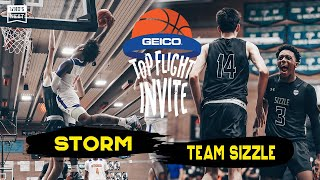 Sizzle (MN) vs STORM (NC) - GEICO Top Flight Invite - ESPN Broadcast Highlights