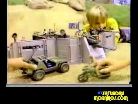 GI JOE 1983 Toy Commercial G.I. Joe Headquarters Playset