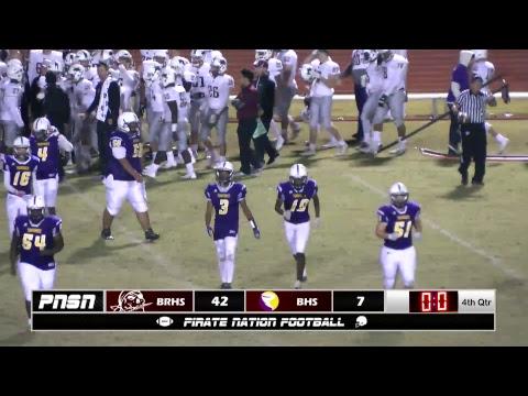 Varsity Football vs Booker High School