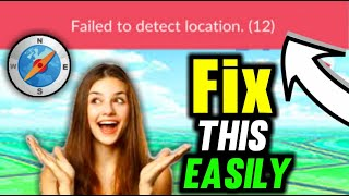 Pokemon Go Failed to Detect Location 12 -Solved with Joystick