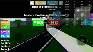 Playing LEGENDS OF SPEED in ROBLOX while taking a NAP!