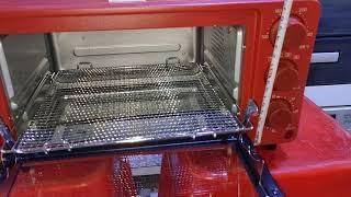 Lò nướng mini nội địa Nhật Siroca Sco 601 đã lên điện 220v