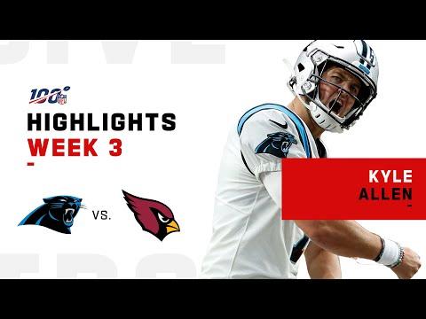 [Highlight] Kyle Allen Seals The Deal w/ 261 Yds & 4 TDs | NFL 2019 Highlights