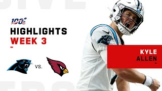 Kyle Allen Seals The Deal w/ 261 Yds and 4 TDs | NFL 2019 Highlights