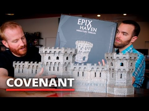 Epix Haven Terrain Review | Full Resin Gatehouses, Walls, And Towers