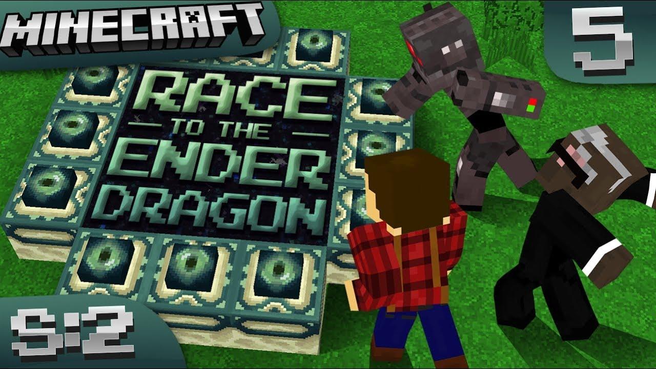 Download Minecraft Ender Dragon Race Season 2: Episode 5