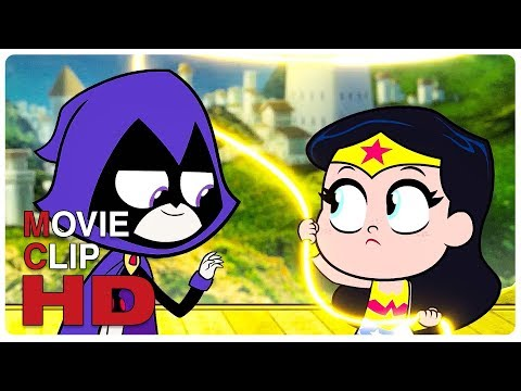 Justice League Erased From Existence Scene | TEEN TITANS GO TO THE MOVIES (2018) Movie CLIP HD