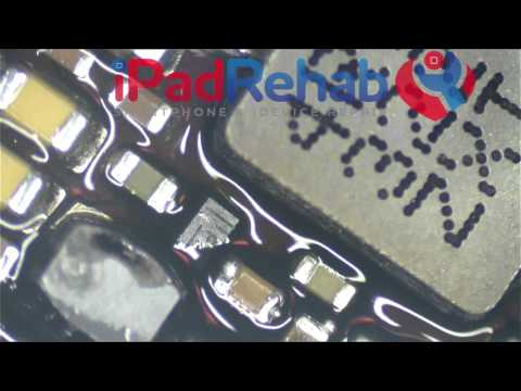 How to change chips with underfill, iPad mini Power Management ic
